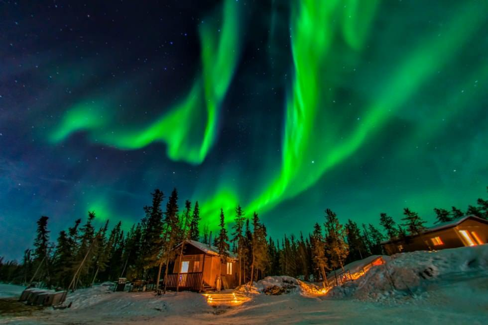 10 مکان برای دیدن نور شمالی