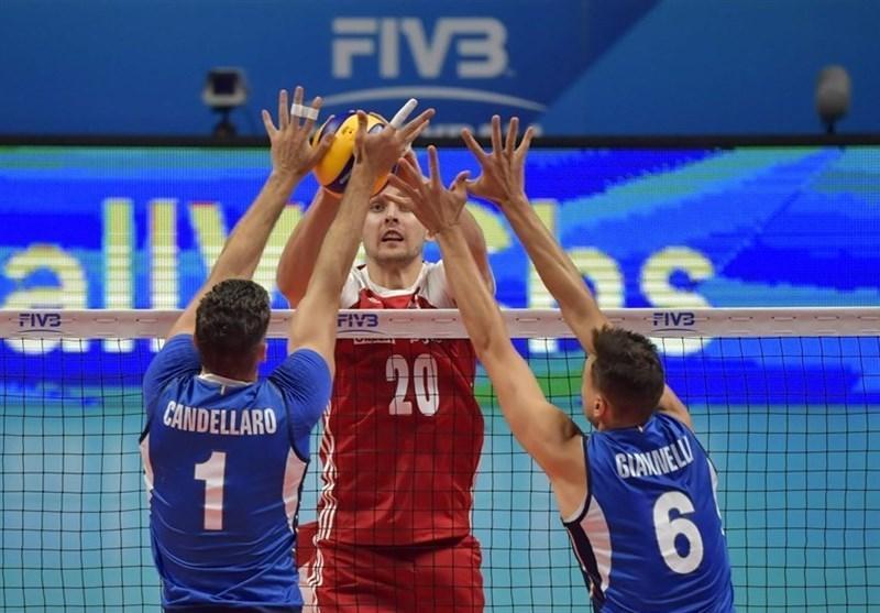 والیبال قهرمانی دنیا، 4 تیم مرحله نیمه نهایی معین شدند