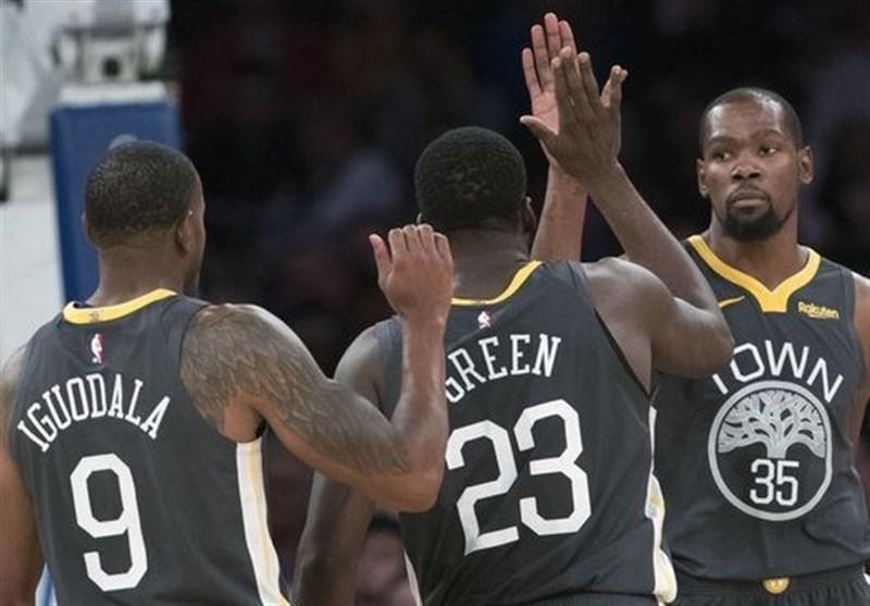 لیگ NBA، پیروزی وریرز با درخشش خارق العاده دورانت، باکس بدون شکست پیش می رود
