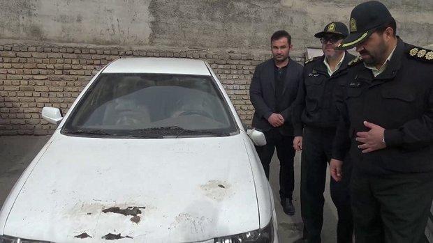 سارقان خانه باغ های مرند دستگیر شدند