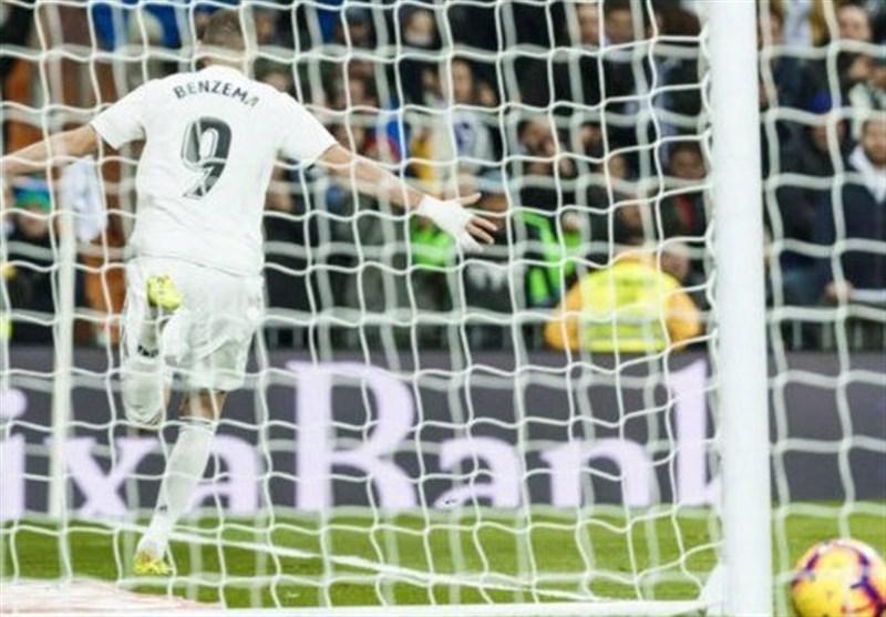 رجحان آسان رئال مادرید با تداوم درخشش بنزما