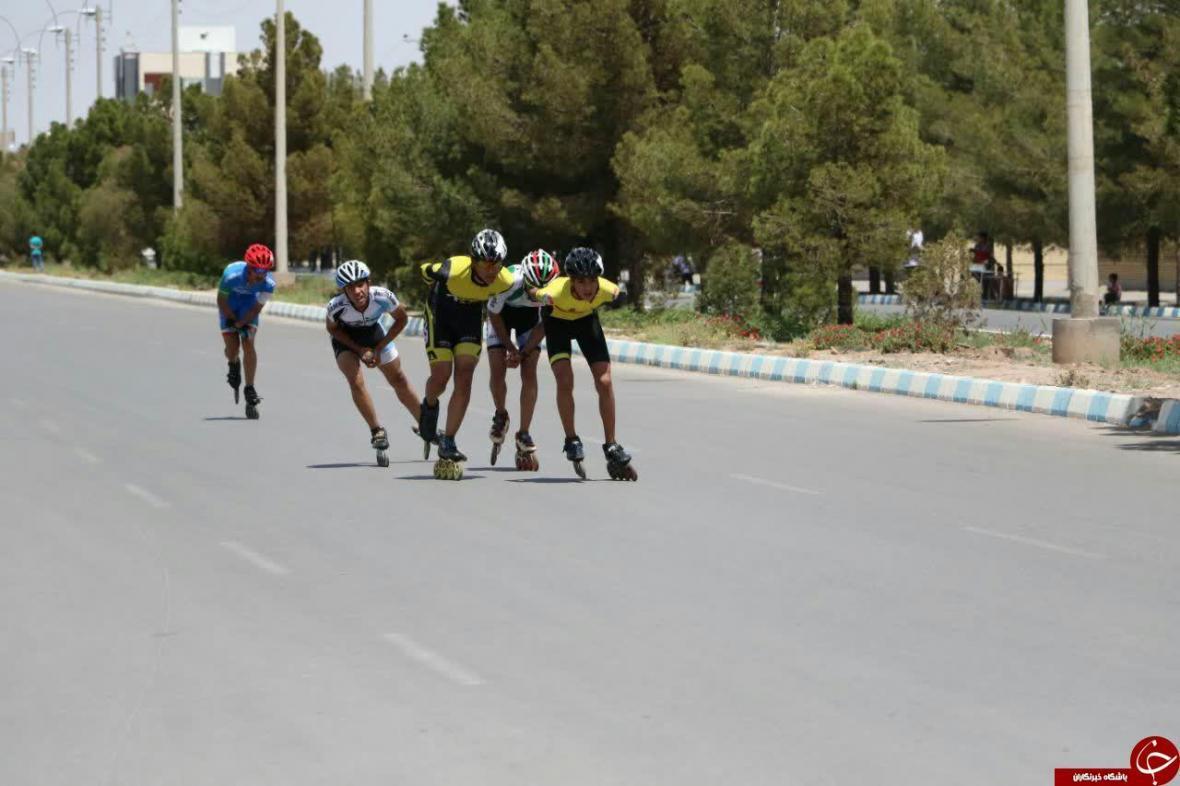 خاتمه رقابت های قهرمانی اسکیت ماراتن کشور در کرمان