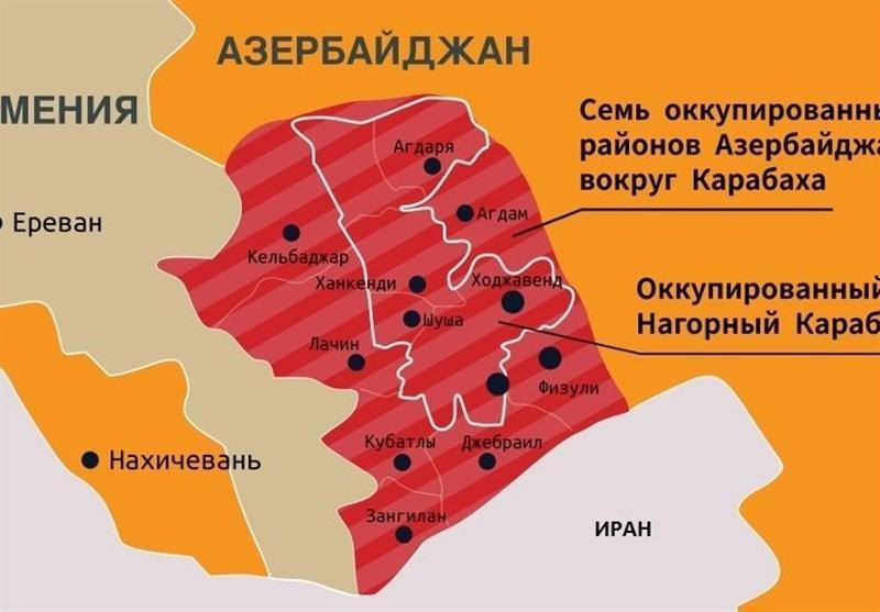باکو جهت برقراری صلح در قفقاز را به پاشینیان نشان داد