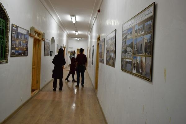 نمایشگاه عکس دستاوردهای باستان شناسی در عمارت مفخم بجنورد برپا شد