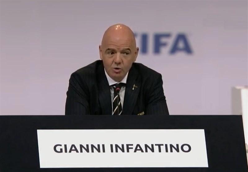 اینفانتینو رسماً در پست ریاست فیفا ابقا شد