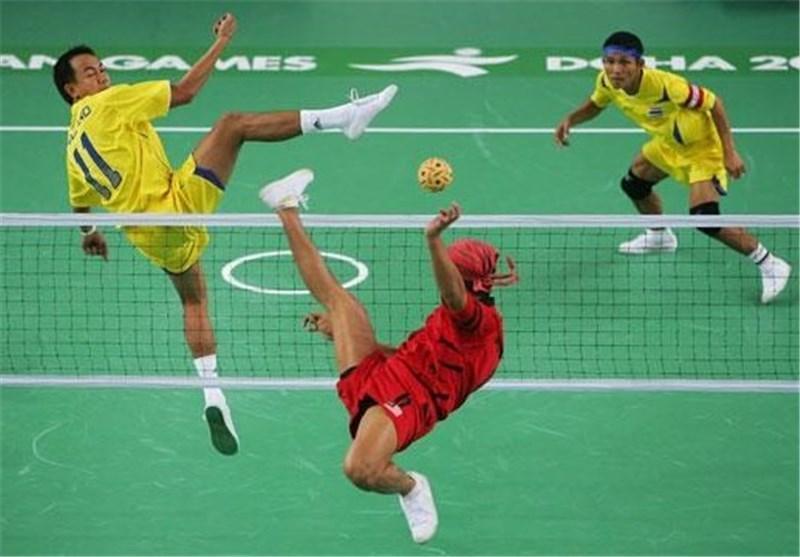 پیروزی تیم ملی سپک تاکرای ایران مقابل سنگاپور در لیگ جهانی