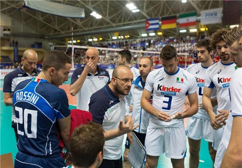 سرمربی ایتالیا: والیبال ایران پیشرفت زیادی داشته است، درخشش این تیم جای ستایش دارد