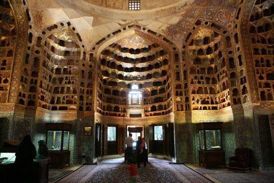 گنبد چینی خانه متعلق به مجموعه جهانی شیخ صفی الدین اردبیلی مرمت شد