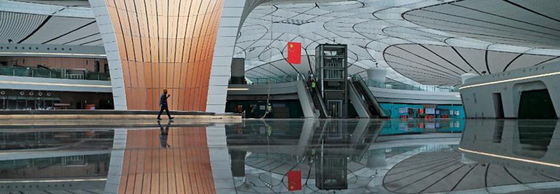 افتتاح داکسینگ ؛ بزرگترین فرودگاه چین ، ستاره دریایی چینی ها بزرگترین فرودگاه دنیا می گردد