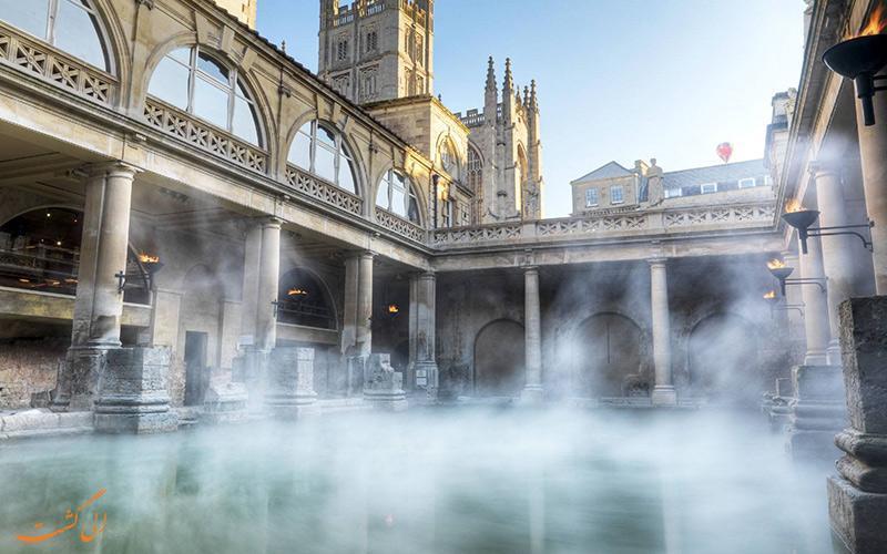 دیدنی های شهر باث، حمام بزرگ اروپا