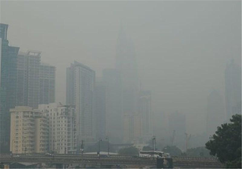 تشدید آلودگی هوا در مالزی در پی مه دود ناشی از آتش سوزی اندونزی