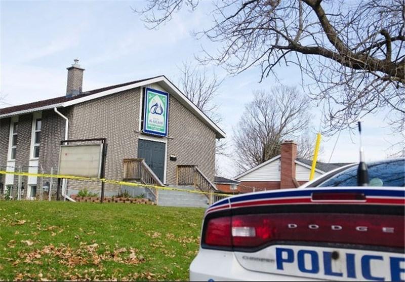 یک مسجد در کانادا به آتش کشیده شد