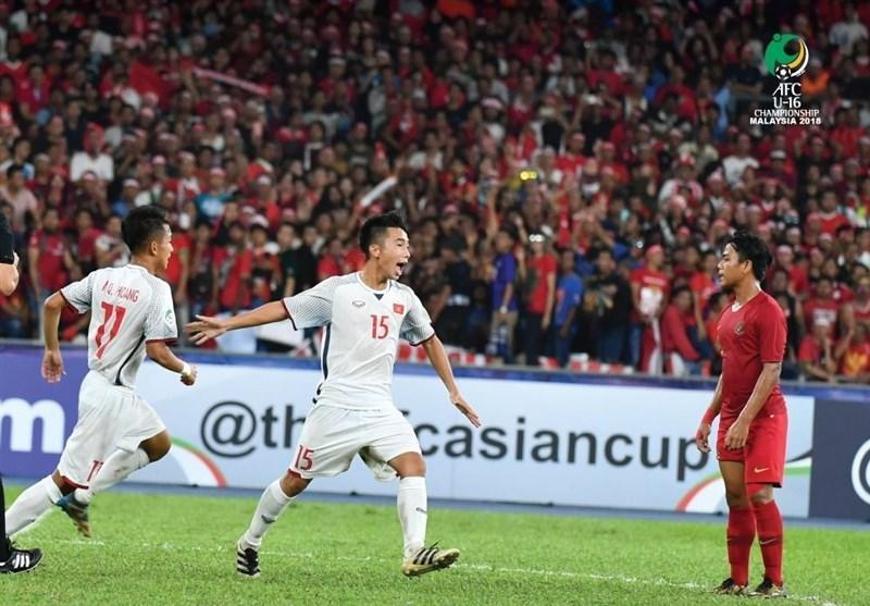 فوتبال زیر 16 سال قهرمانی آسیا، تساوی اندونزی و ویتنام با تداوم قعرنشینی ایران