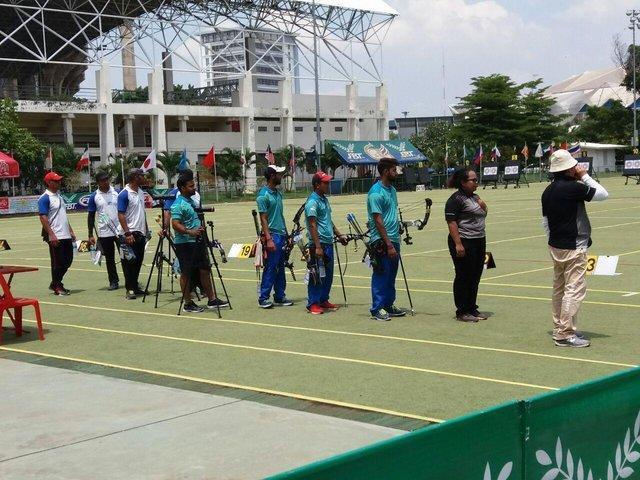 نایب قهرمانی کامپوند مردان ایران در کاپ آسیایی تایلند