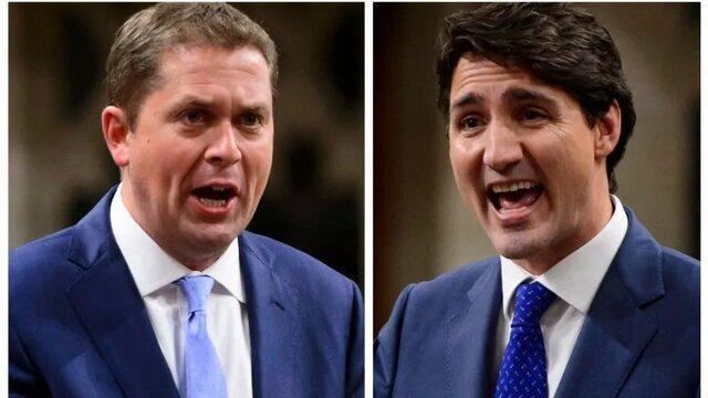 انتخابات کانادا؛ ترودو در مقابل شیر