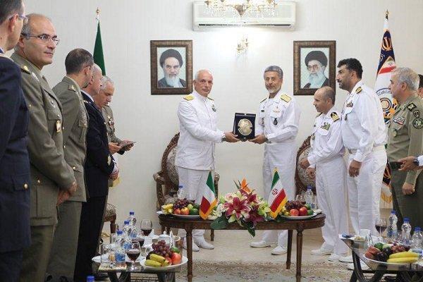 دعوت ایتالیا از ناوگروه های ارتش ایران برای پهلوگیری در این کشور