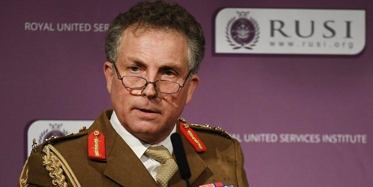 رئیس ستاد مشترک ارتش انگلیس: ایران، روسیه و چین امنیت ما را به چالش می کشند