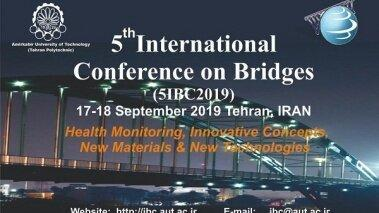 برگزاری پنجمین کنفرانس بین المللی پل، مهلت ارسال مقاله