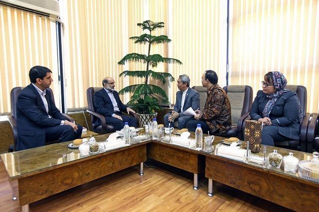 دیدار سفیر اندونزی با رییس صداوسیما، آمادگی برای گسترش همکاری ها