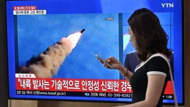 آلمان، فرانسه و انگلیس پرتاب های موشکی کره شمالی را محکوم کردند
