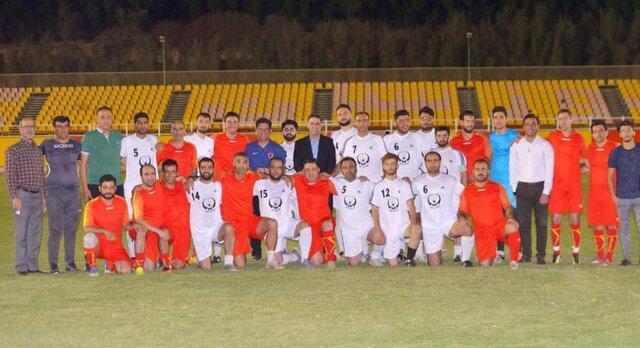 تقابل دیدنی یاران نکونام و تیم رسانه خوزستان