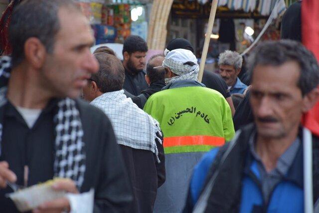 حضور 450 نیروی پاکبان در نجف و کوفه