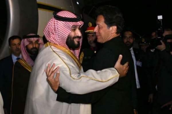رایزنی عمران خان و بن سلمان درباره تحولات منطقه