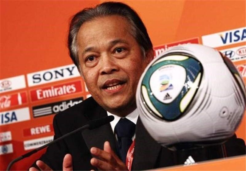 رئیس فدراسیون فوتبال تایلند دوشنبه وارد ایران می گردد
