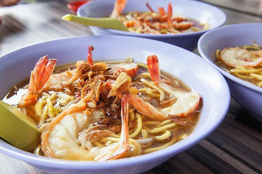 غذاهای محلی سنگاپور، ویترینی از غذاهای ملل مختلف