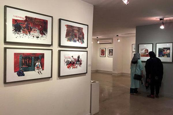 آثار مصوران برجسته ایتالیا به نگارخانه لاله آمد