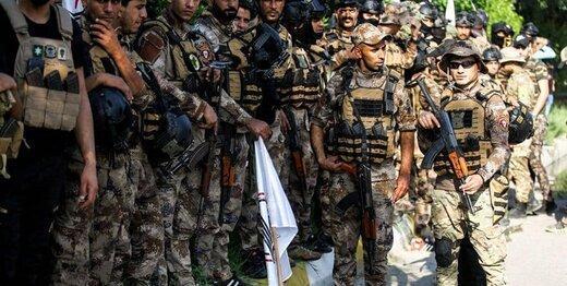 استقرار نیرو های مبارزه با تروریسم در بخش های مختلف بغداد