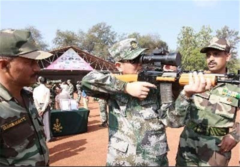 شروع تمرینات نظامی مشترک هند و چین برای مبارزه با تروریسم