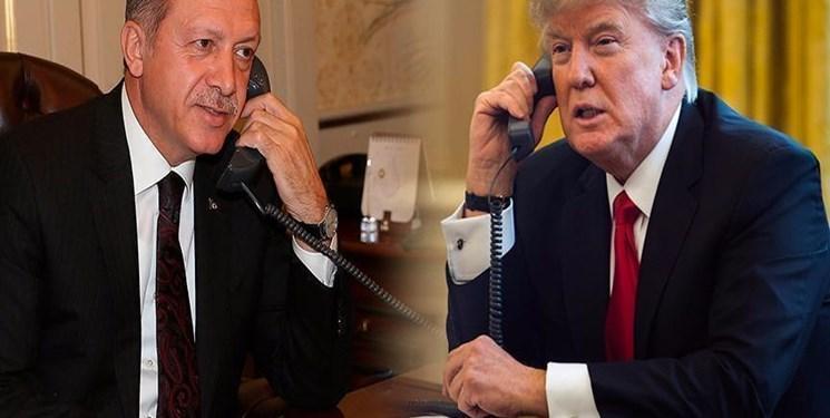 ترامپ: تلفنی با اردوغان درباره سوریه و تروریسم صحبت کردم
