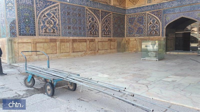 سامان دهی تاسیسات آب رسانی مسجد جامع عتیق اصفهان پس از 30 سال