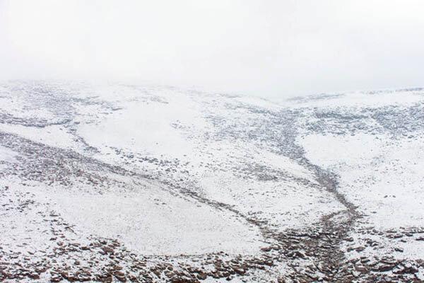 خاتمه جست و جوی مرد گمشده در کوهستان برفی