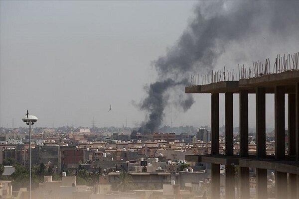 حملات گسترده نیروهای حفتر علیه مناطق مسکونی طرابلس