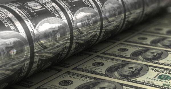آمریکا چه قدر اسکناس دلار چاپ می نماید؟
