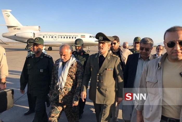 سفر وزیر دفاع به سیستان و بلوچستان به منظور بازدید از اقدامات این سازمان در مناطق سیل زده