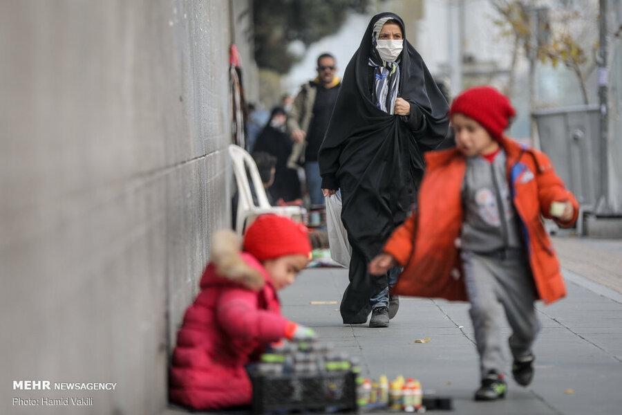 هوای تهران ناسالم است ، گروه های حساس خانه بمانند