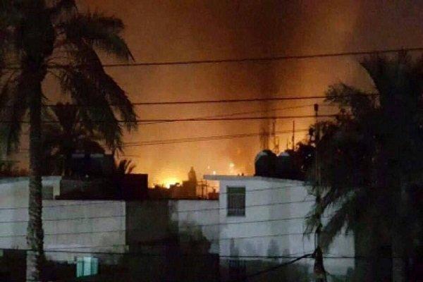 2 زخمی در پی انفجار بمب صوتی در مرکز بغداد
