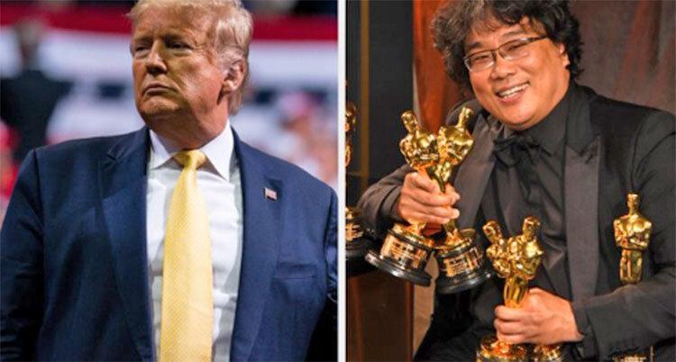حمله ترامپ به برنده اسکار بهترین فیلم ، انگل هم شد بر باد رفته؟