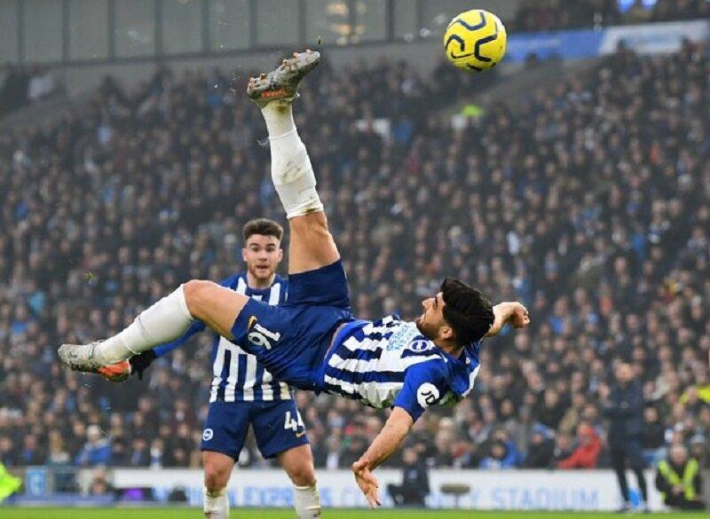 گل جهانبخش سومین گل برتر فصل جاری لیگ فوتبال انگلیس