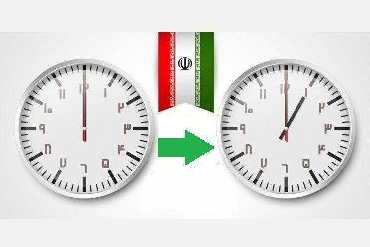 خبرنگاران ساعت رسمی کشور یک ساعت جلو کشیده شد