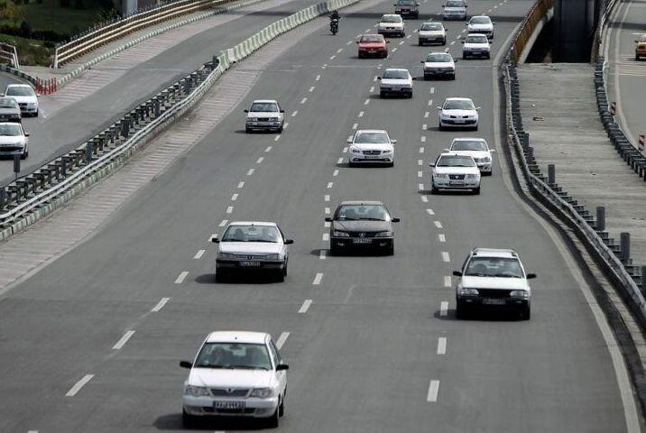 تردد در جاده های استان مرکزی 61 درصد کاهش یافت