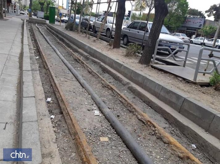 ریل ماشین دودی شهرری مرمت می گردد