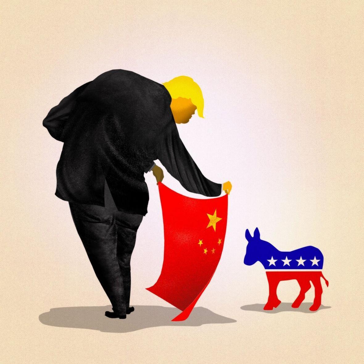 خبرنگاران نیویورک تایمز: آیا دموکرات ها از تله چینی ترامپ می گریزند؟