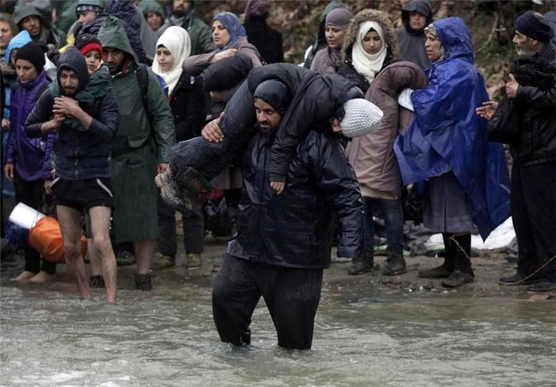 شکست پناهجویان در مقابله با سرمای رودخانه های مرزی