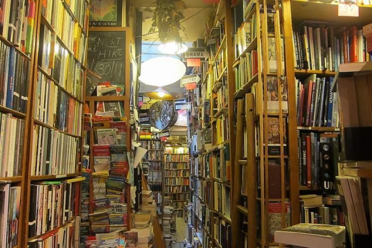 تجربه شغل فروش کتاب در این کتابفروشی شهر لندن