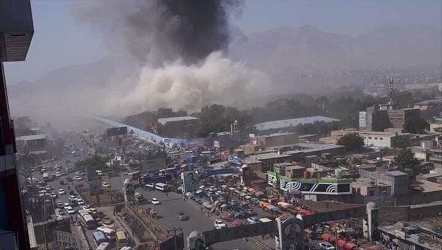 خبرنگاران کابل در سالروز استقلال کشور زیر حملات راکت ها بود