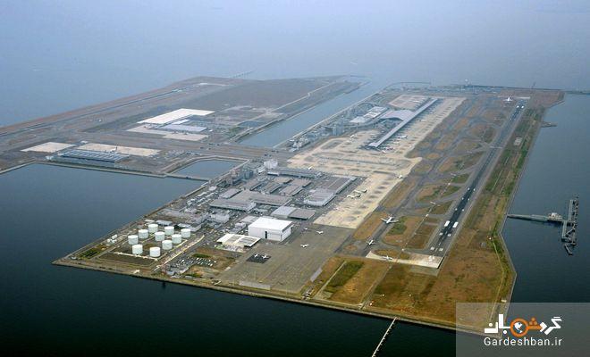عکس، کانسای؛ بزرگ ترین فرودگاه شناور در جهان به ارزش 18 میلیارد دلار